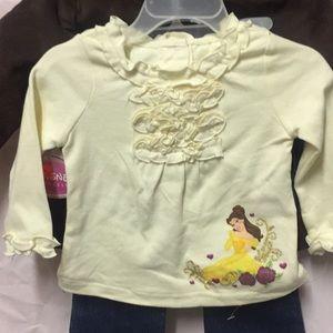 3/$20 Disney Princess 3-Piece Outfit
